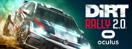 Supported games - Dirt Rally 2 Oculus Store