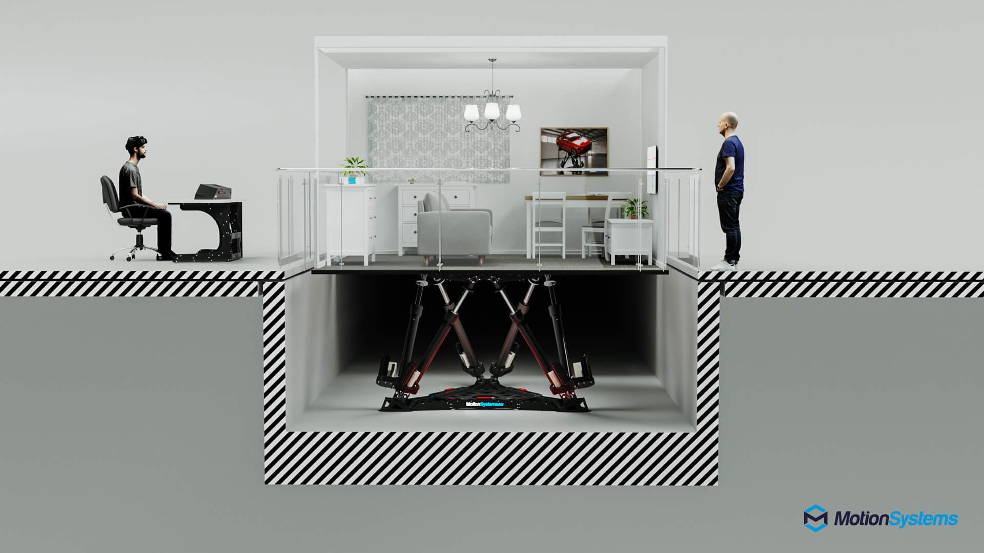 Earthquake Simulator Room