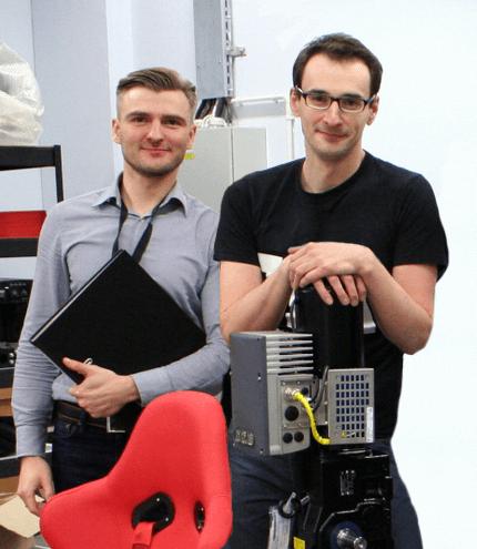 Michał Stanek and Paweł Koczan